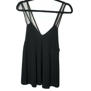 4/$25 Brandy Melville  Black Tank Top